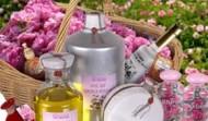 Rosenvand og rosenolie anvendelse